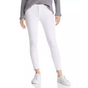 NWT Frame Denim Le Skinny de Jeanne White Jeans
